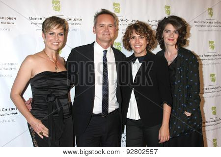 LOS ANGELES - JUN 2:  Melora Hardin, Roy Price, Jill Soloway, Gabby Hoffmann at the Brass Ring Awards Dinner at the Beverly Hilton Hotel on June 2, 2015 in Beverly Hills, CA