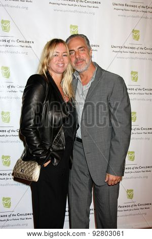 LOS ANGELES - JUN 2:  Jose Stemkens, Titus Welliver at the United Friends of the Children Brass Ring Awards Dinner at the Beverly Hilton Hotel on June 2, 2015 in Beverly Hills, CA