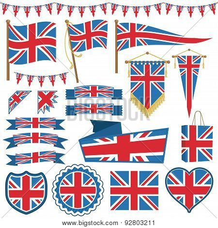 Uk Flag Decorations