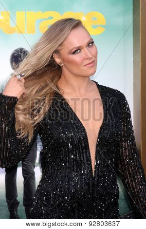 LOS ANGELES - MAY 27:  Ronda Rousey at the