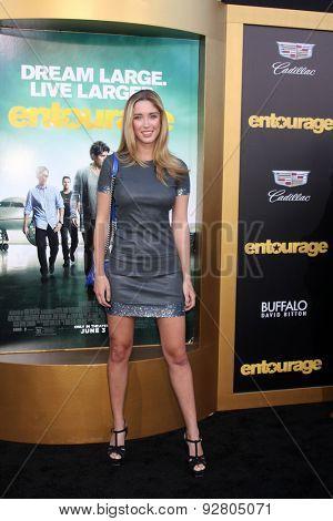 LOS ANGELES - MAY 27:  Melissa Bolona at the