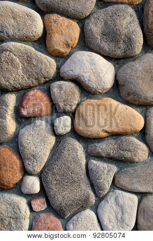 Colors and shapes of stone background