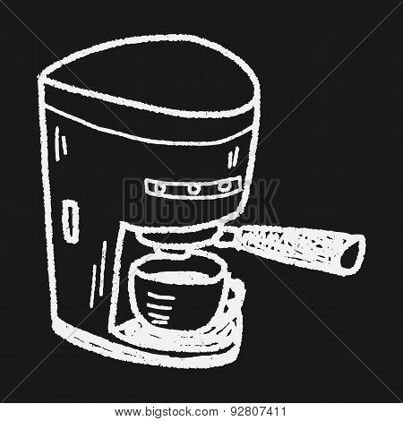 Coffee Maker Doodle
