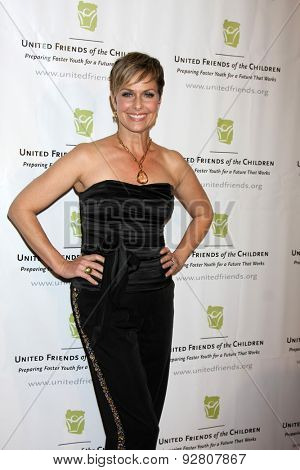 LOS ANGELES - JUN 2:  Melora Hardin at the United Friends of the Children Brass Ring Awards Dinner at the Beverly Hilton Hotel on June 2, 2015 in Beverly Hills, CA