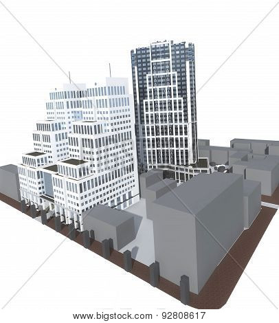 High-rise Modern Buildings
