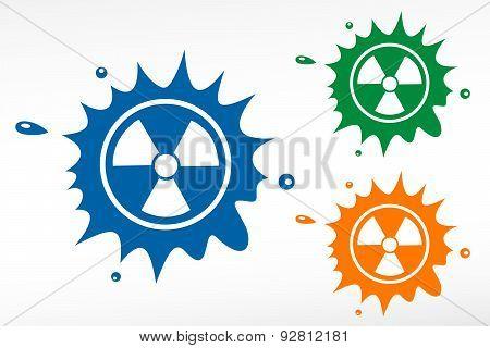 Radioactive Vector Color Blob