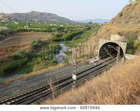 Railway And River
