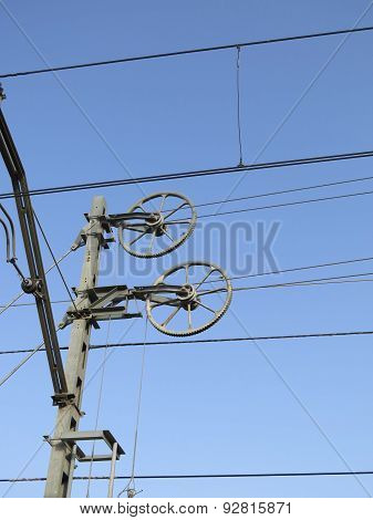 Railway Overhead Line Wheels
