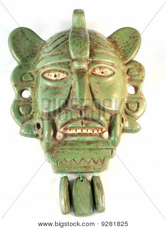 Face of a Maya God