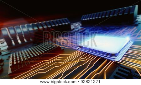 Macro View Central Processor Unit