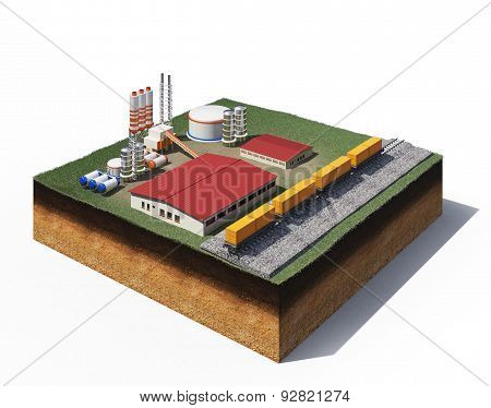 Gravel Production Factory