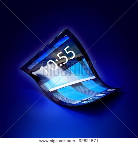 Mobile Phone With Flexible Screen