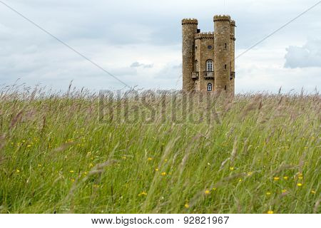 Broadway Tower - Folly In Cotswolds England