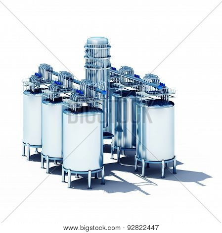 Steel Fermentation Vats