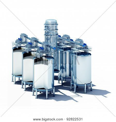 Steel Fermentation Vats Section