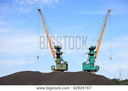 Coal Yard Storage