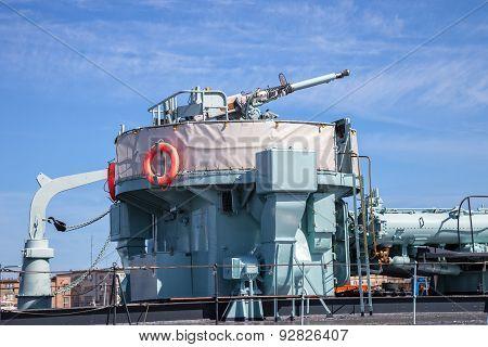 Gun Of An Warship