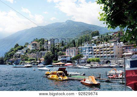 Ascona at Lake Maggiore, Switzerland