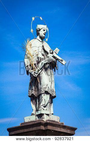 Charles Bridge Statue