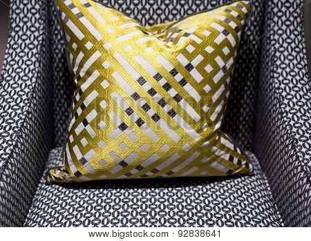 Luxury Chair And Cushion