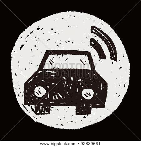 Car Wifi Doodle