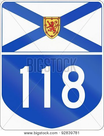 Nova Scotia Highway 118