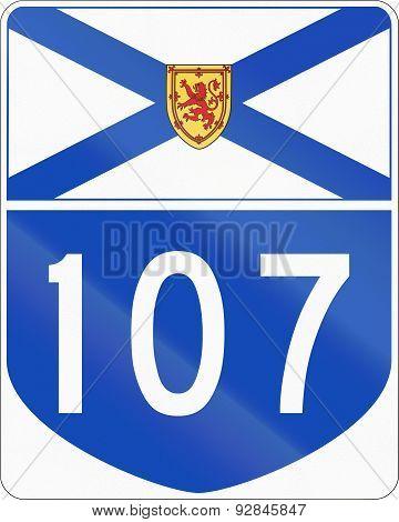 Nova Scotia Highway 107