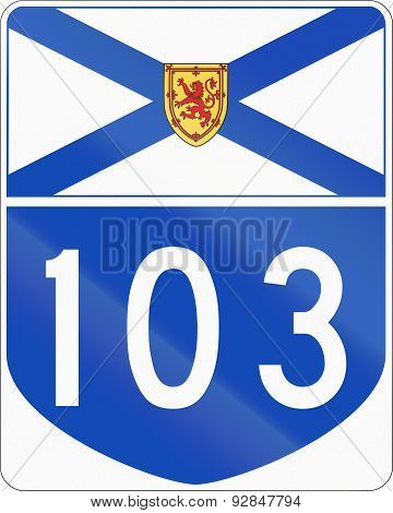 Nova Scotia Highway 103