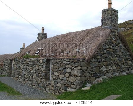 Scottish Black House