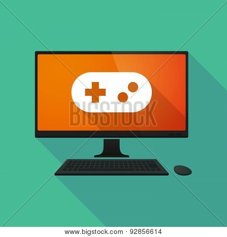Personal Computer With A Game Pad