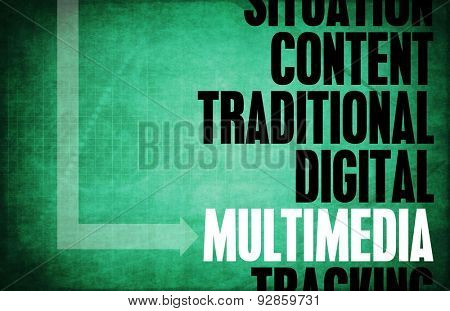 Multimedia Core Principles as a Concept Abstract