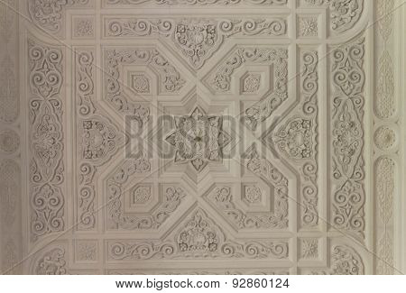 Ceiling detail in typical Moroccan Style