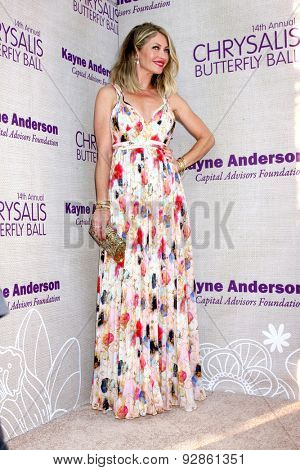 LOS ANGELES - JUN 6:  Rebecca Gayheart at the 14th Annual Chrysalis Butterfly Ball at the Private Residence on June 6, 2015 in Los Angeles, CA