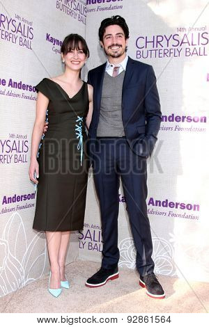 LOS ANGELES - JUN 6:  Ben Feldman at the 14th Annual Chrysalis Butterfly Ball at the Private Residence on June 6, 2015 in Los Angeles, CA