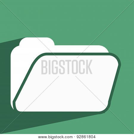 Vector Illustration Of A Folder Icon.