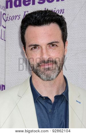LOS ANGELES - JUN 6:  Reid Scott at the 14th Annual Chrysalis Butterfly Ball at the Private Residence on June 6, 2015 in Los Angeles, CA