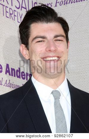 LOS ANGELES - JUN 6:  Max Greenfield at the 14th Annual Chrysalis Butterfly Ball at the Private Residence on June 6, 2015 in Los Angeles, CA