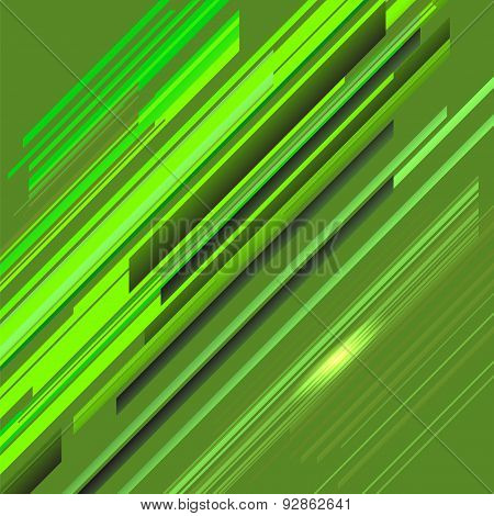 Green Line Background