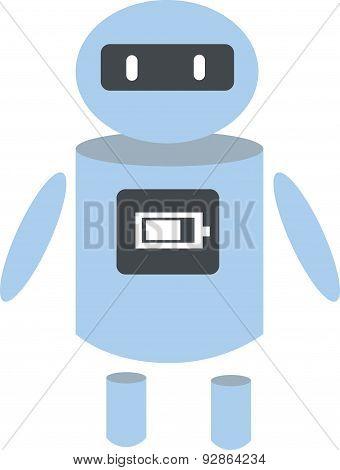 Vector Illustration Of A Robot.