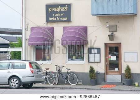 Restaurant Prashad exterior