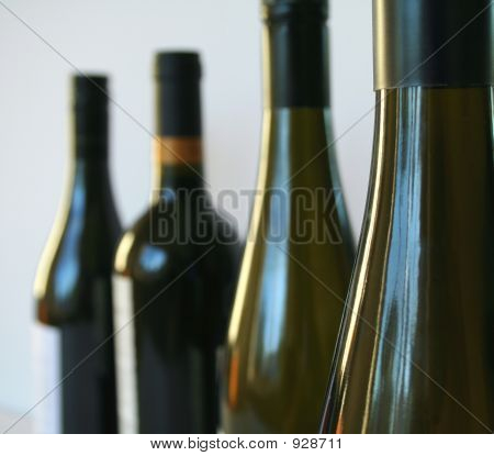 Wine In Row