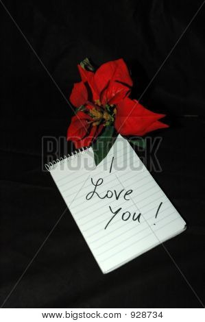 Note And Flower