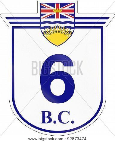 British Columbia Highway 6