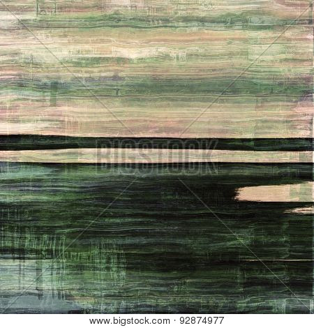 Abstract textured background designed in grunge style. With different color patterns: yellow (beige); gray; black; green