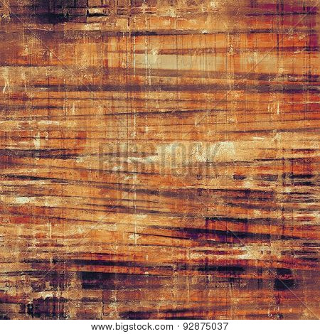 Abstract old background with rough grunge texture. With different color patterns: yellow (beige); brown; gray; purple (violet)