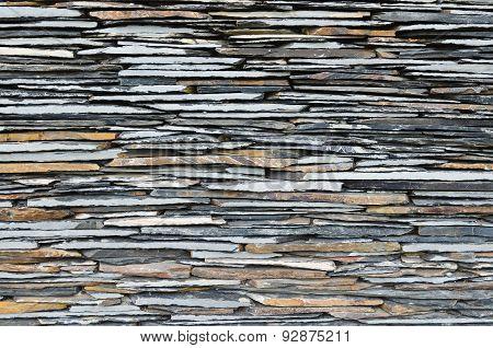 Slate Stone Wall Surface