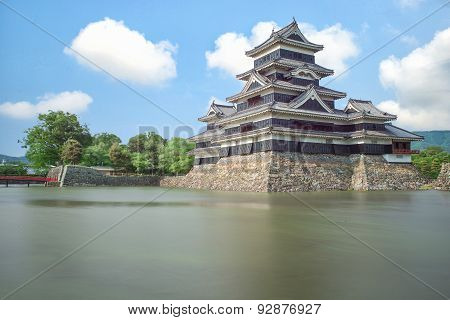 Matsumoto Castle In Matsumoto City,nagono, Japan