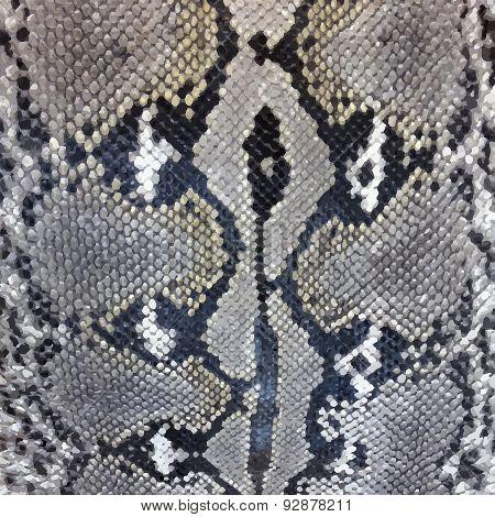 Snake skin python pattern textile texture