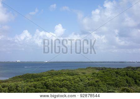 Laguna Nichupte, Yucatan, Mexico