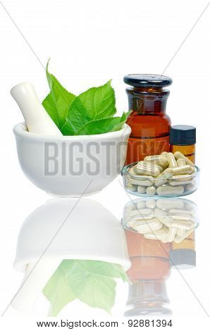 Herbal medicine products.